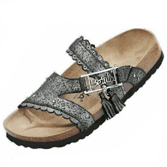 882a1760ed39 Birkenstock Shoes | Betula Glitter Krystle Sandals | Poshmark